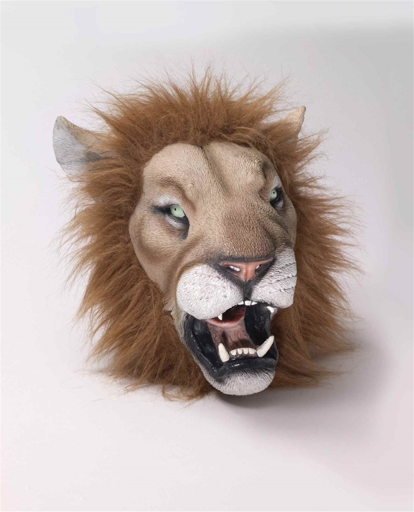 Lion Deluxe Latex Mask with Hair