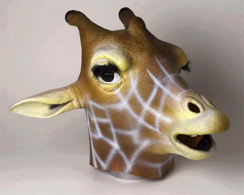 Giraffe Deluxe Latex Mask by Forum Novelties