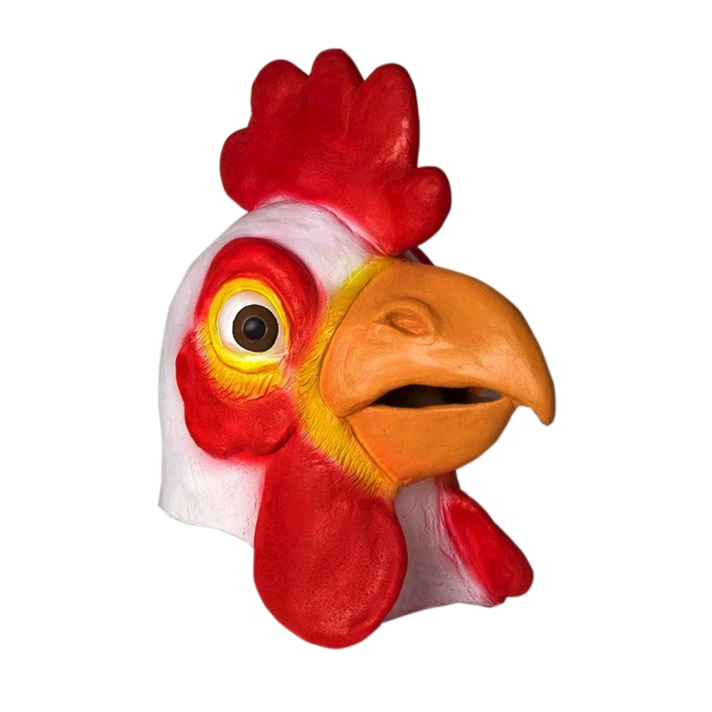 Chicken Deluxe Latex Mask