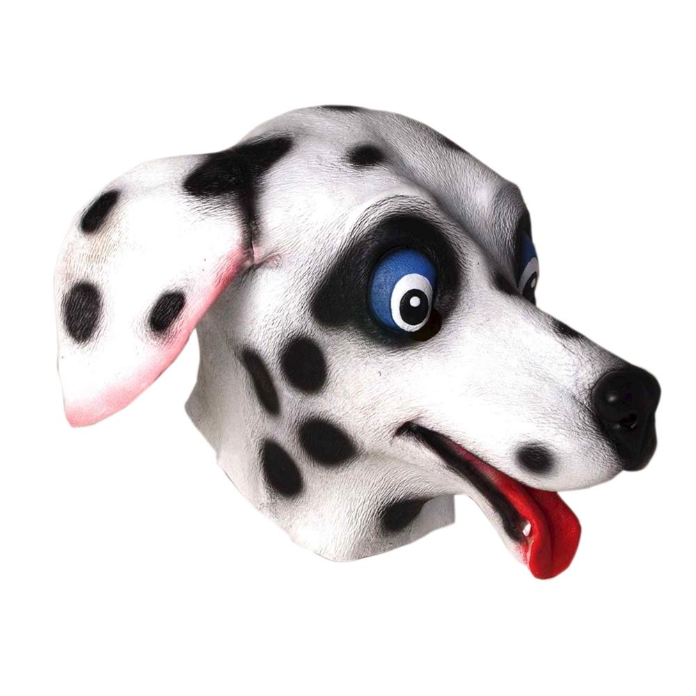 Dalmatian Deluxe Latex Mask