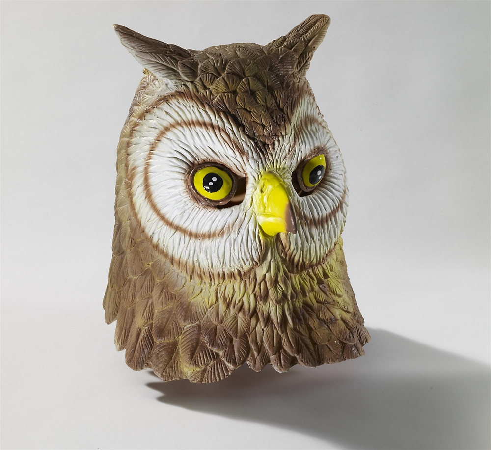 Owl Deluxe Latex Mask