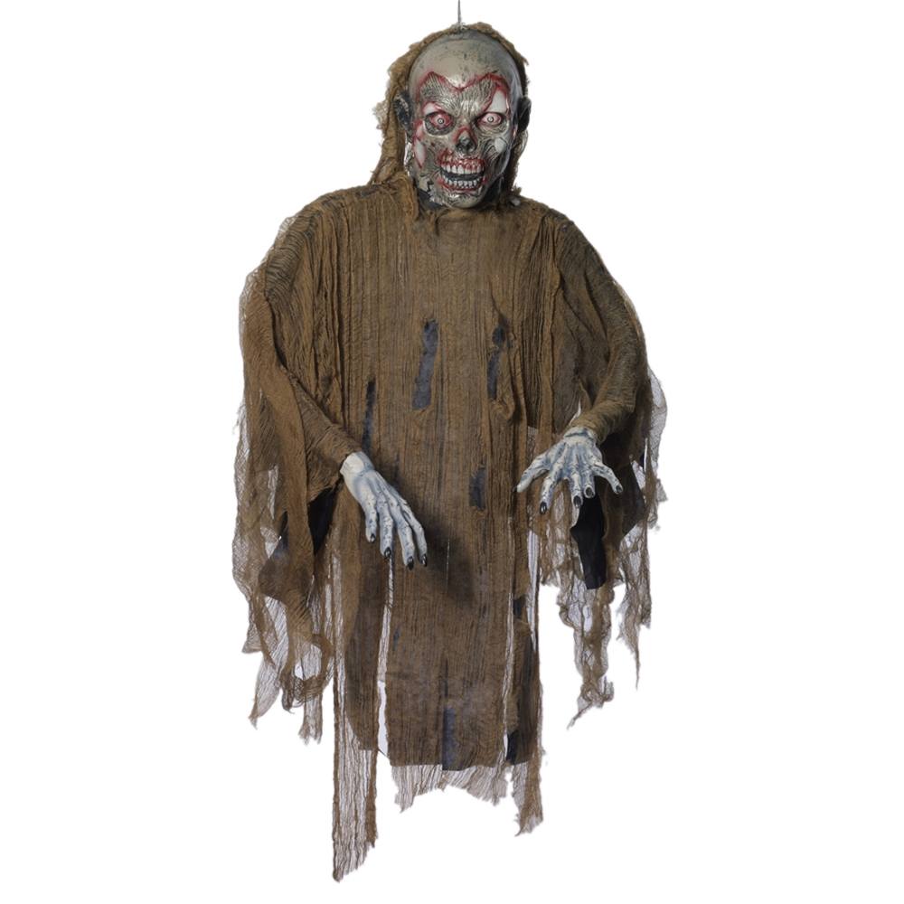 Brown Zombie Hanging Prop