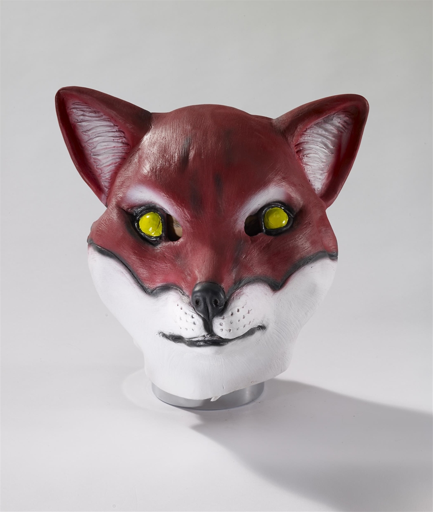 Red Fox Latex Mask