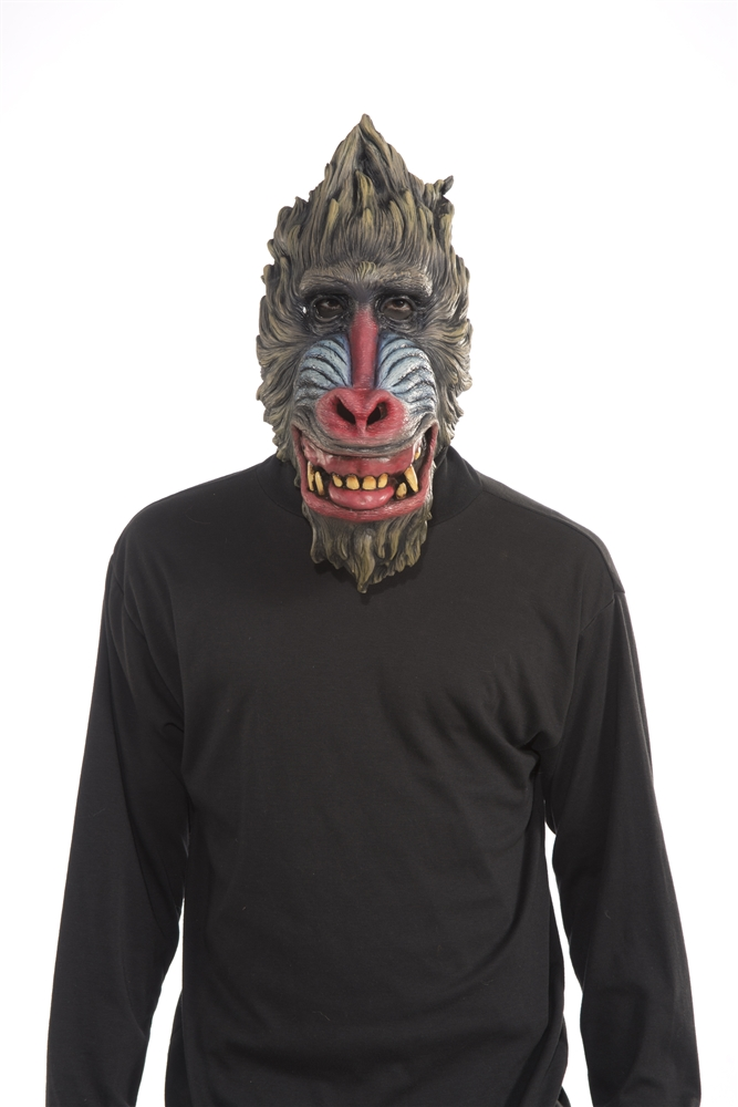 Image of Baboon Latex Mask