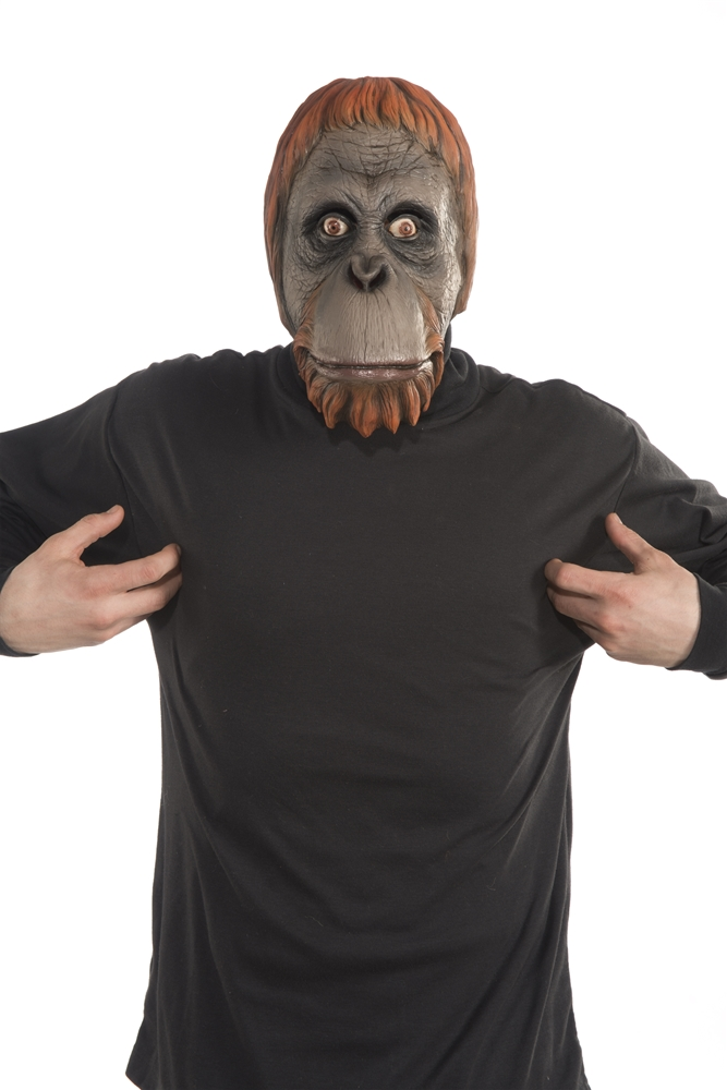 Orangutan Latex Mask