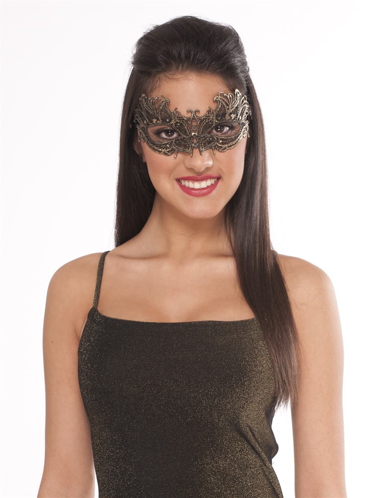 Lace Masquerade Half Mask (More Colors)