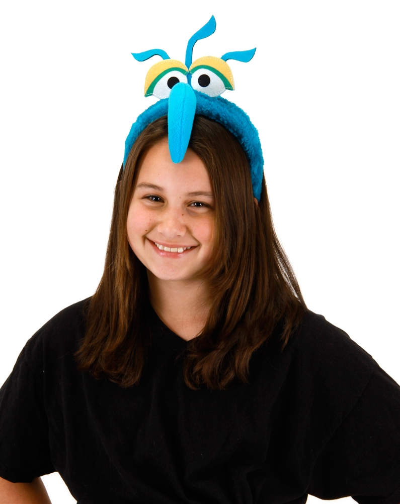 The Muppets Gonzo Fuzzy Headband