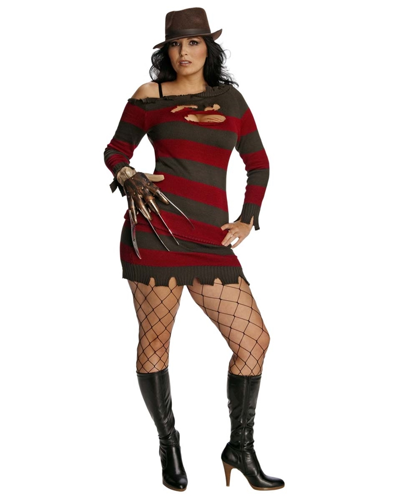 Miss Krueger Adult Womens Plus Size Costume by Rubies