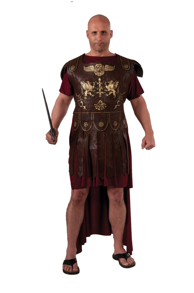 Roman Soldier Adult Mens Plus Size Costume