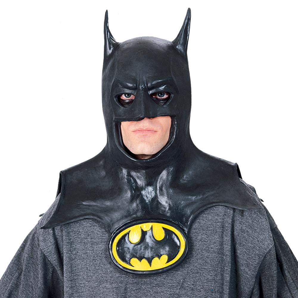 batman adult mask with cowl 325944. Black Bedroom Furniture Sets. Home Design Ideas