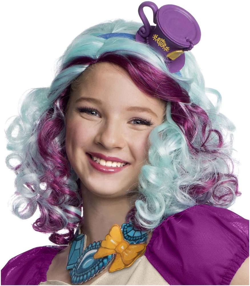 Image of Ever After High Madeline Hatter Child Wig