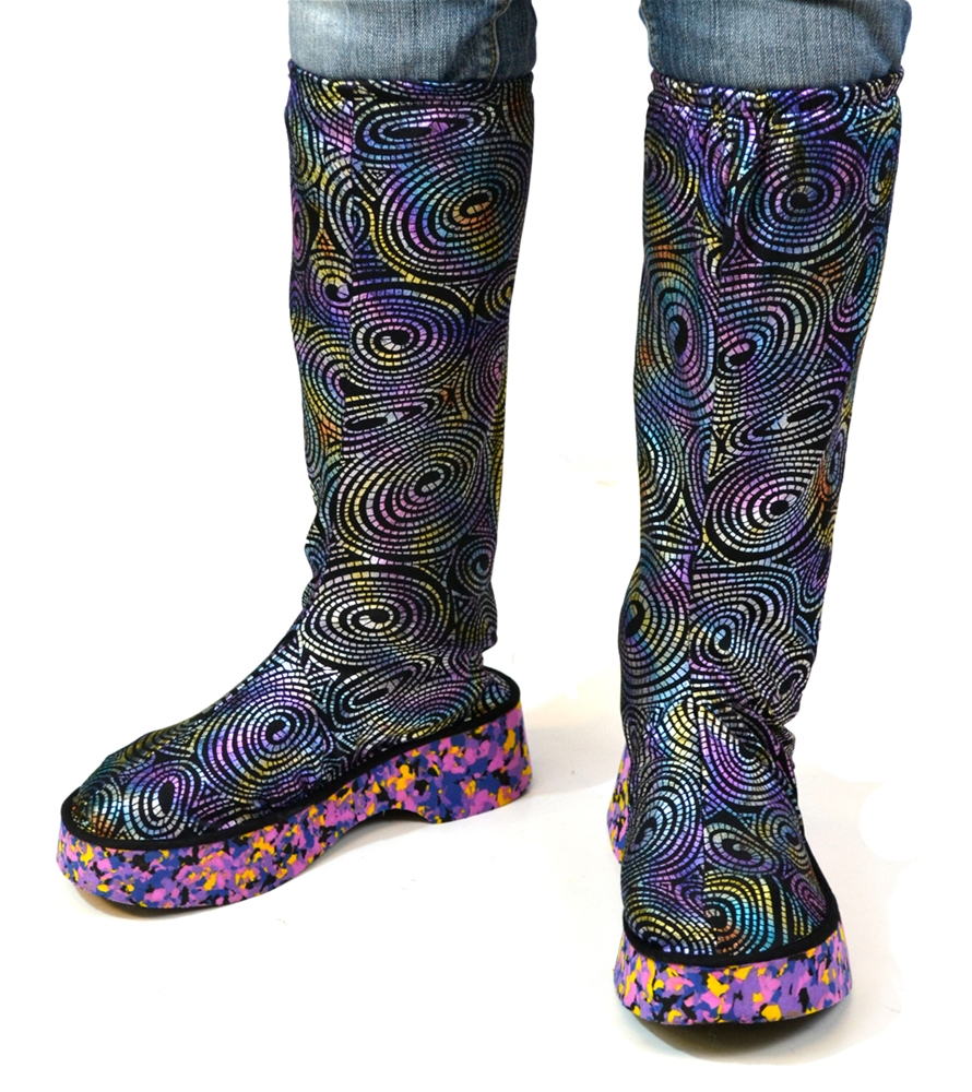 Groovy Rainbow Boots by Forum Novelties