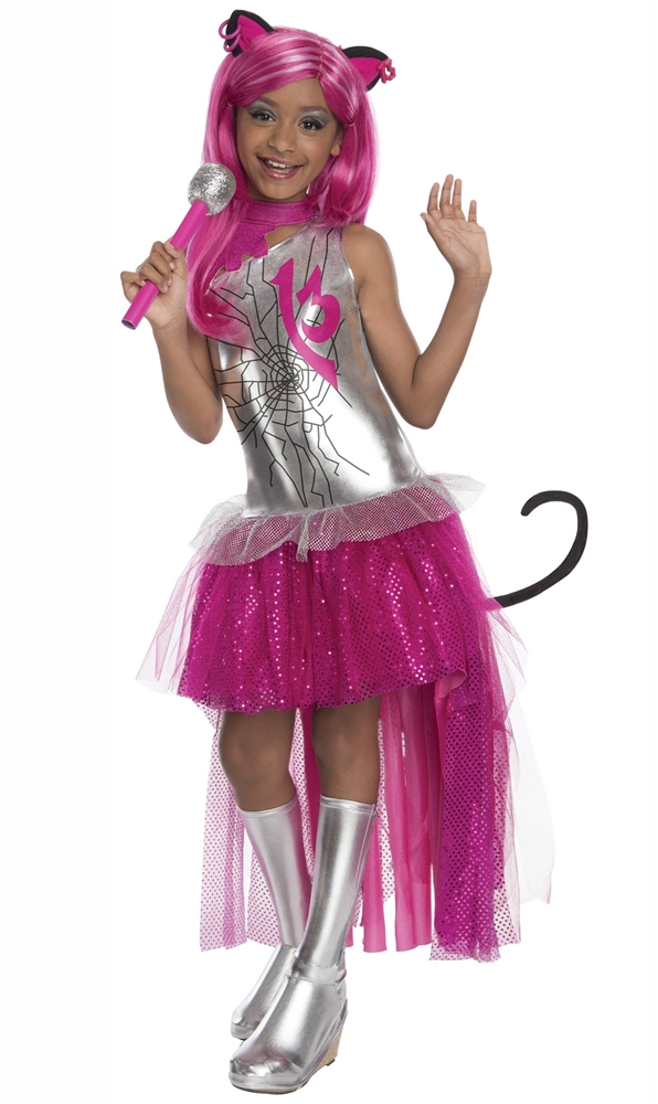 Monster high catty noir child costume 326143 - Masque monster high ...