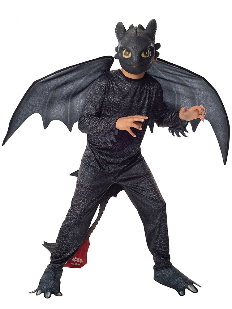 How to Train Your Dragon Toothless Night Fury Child Costume