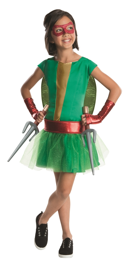 Teenage Mutant Ninja Turtles Deluxe Raphael Dress Child Costume