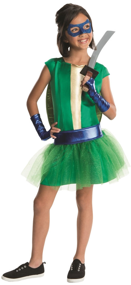 Teenage Mutant Ninja Turtles Deluxe Leonardo Dress Child Costume 610132