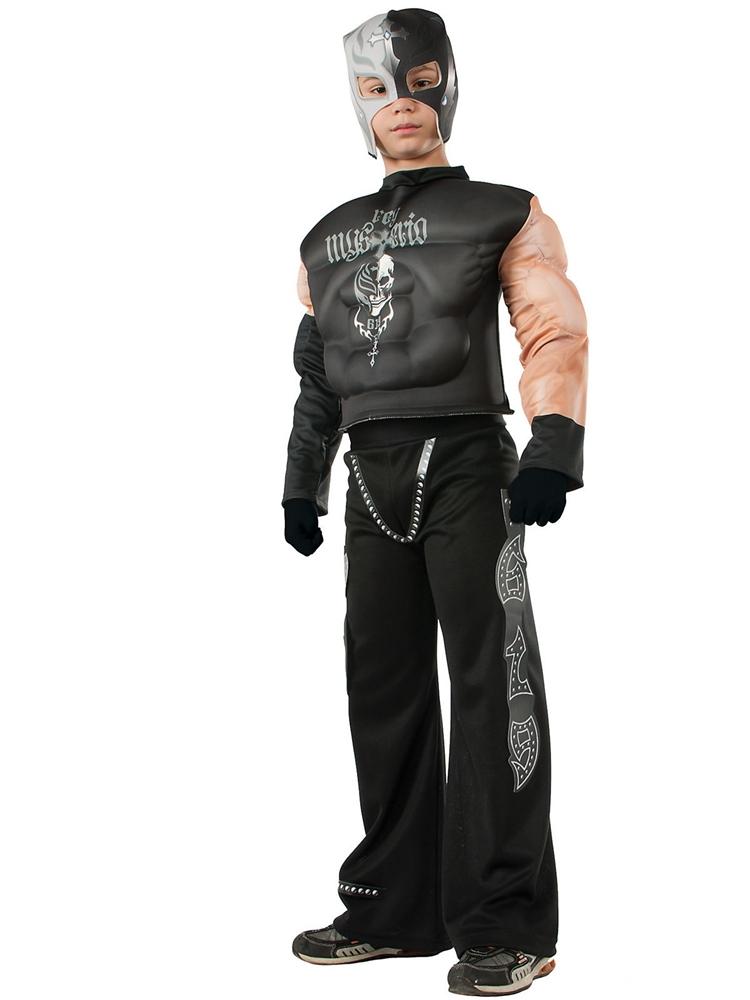 WWE Deluxe Rey Mysterio Jr. Child Costume (Rey Mysterio Wwe)