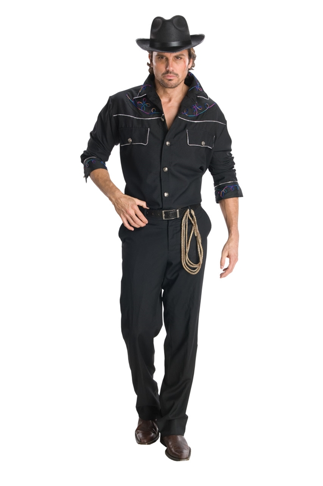 Cowboy Adult Mens Costume  sc 1 st  Trendy Halloween & Cowboys and Cowgirls Couple Costumes | TrendyHalloween.com