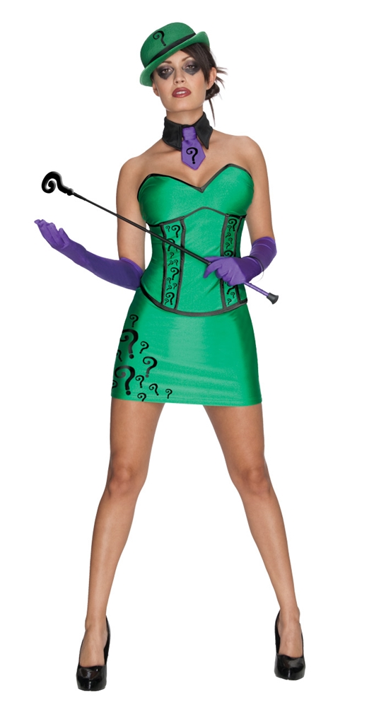 Miss Riddler Adult Womens Costume by Rubies