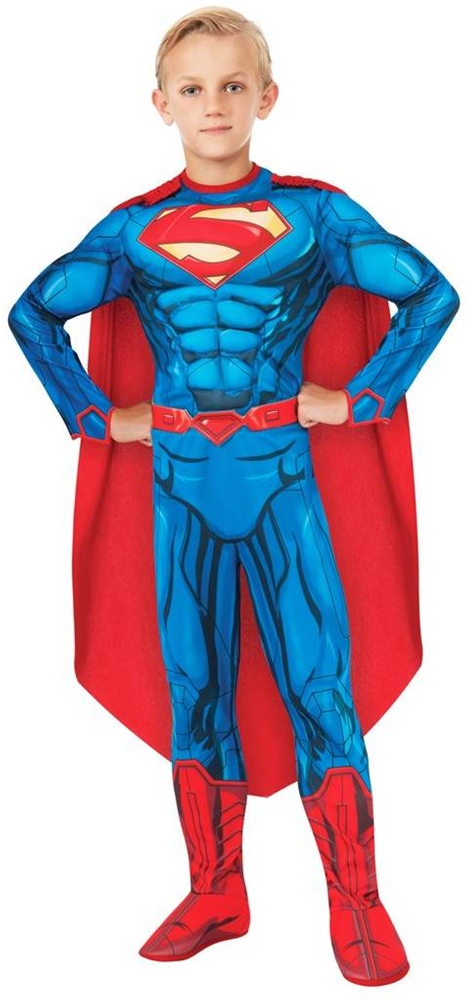 DC Super Heroes Deluxe Superman Muscle Child Costume