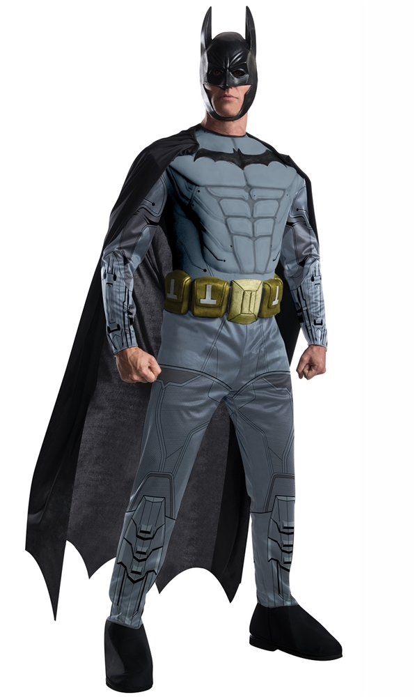 Arkham Batman Muscle Adult Mens Costume by Rubies