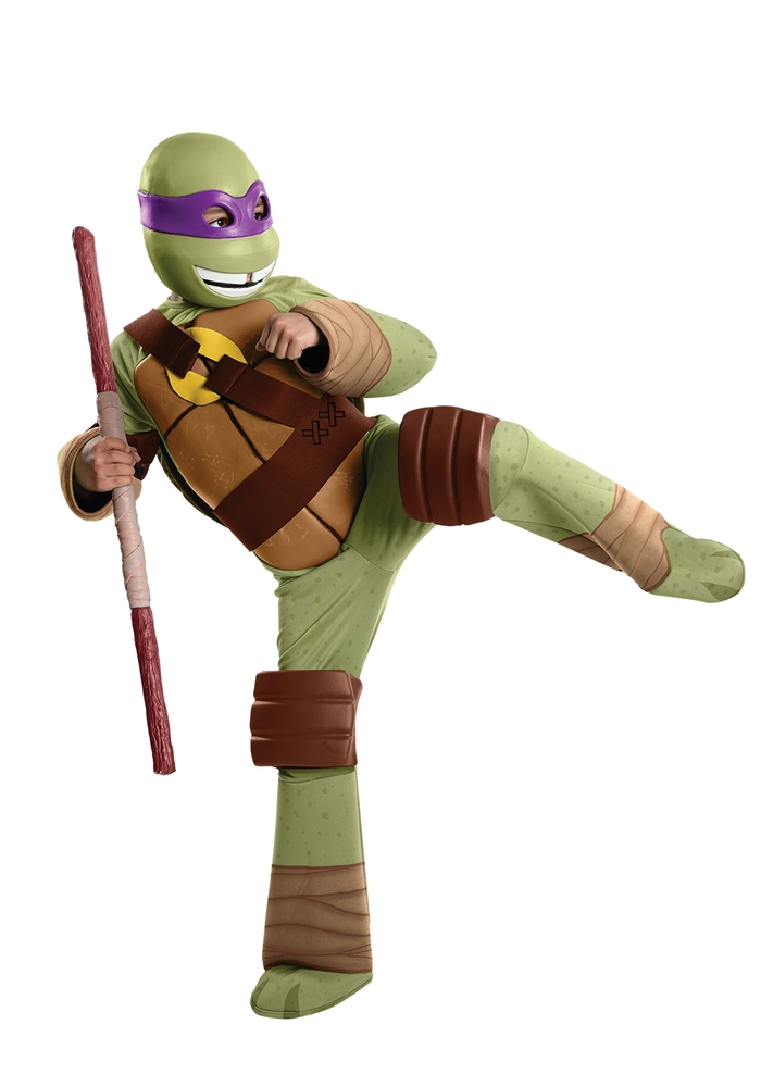 Teenage Mutant Ninja Turtles Deluxe Donatello Child Costume 886761