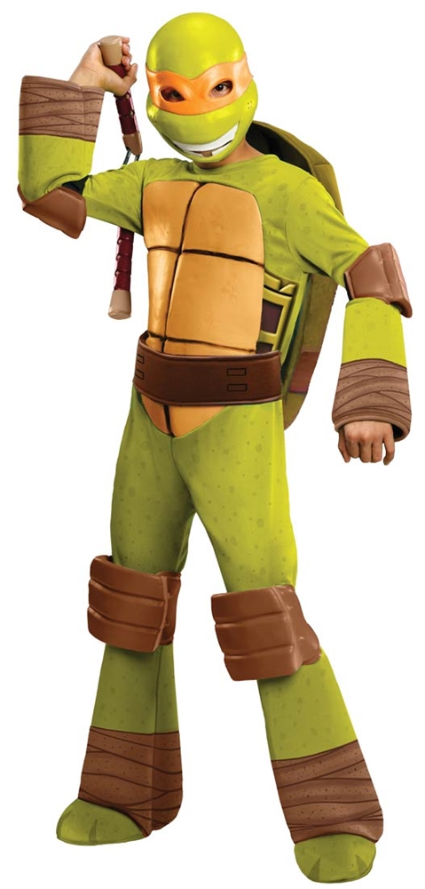 Teenage Mutant Ninja Turtles Michelangelo Deluxe Child Costume