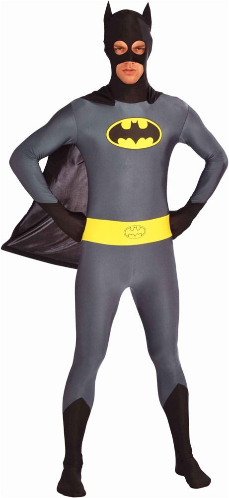 Batman Zentai Bodysuit Adult Mens Costume