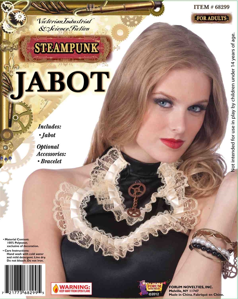 Steampunk Jabot with Gear