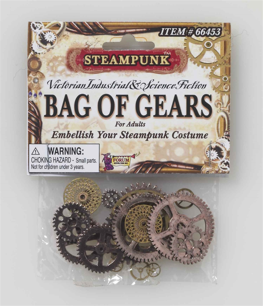 Steampunk Bag of Gears by Forum Novelties