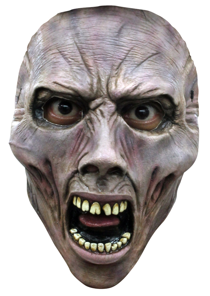 World War Z Screaming Zombie Half Mask