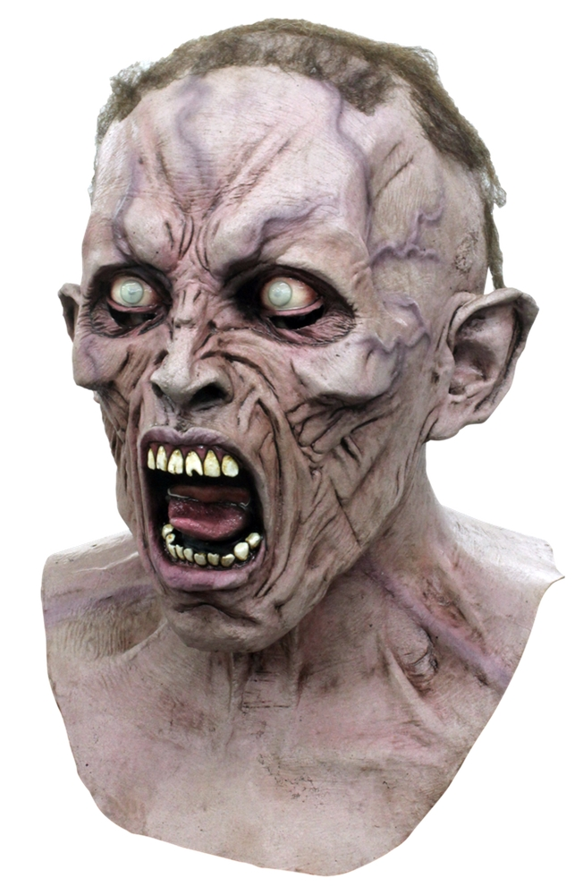 World War Z Deluxe Screaming Zombie Mask