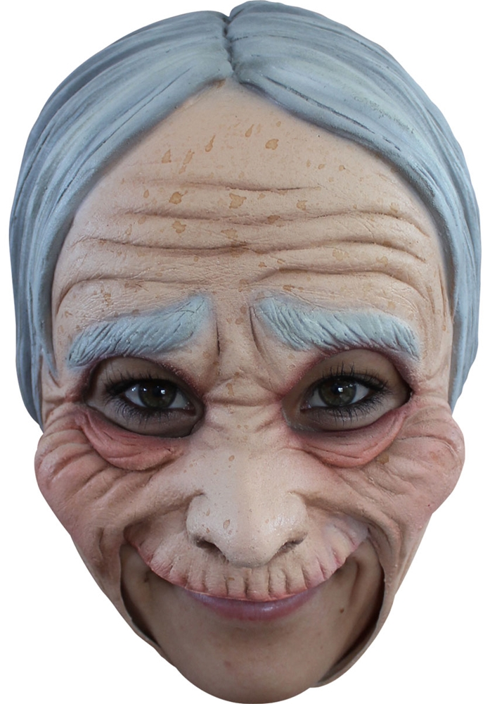 Old Lady Chinless Mask