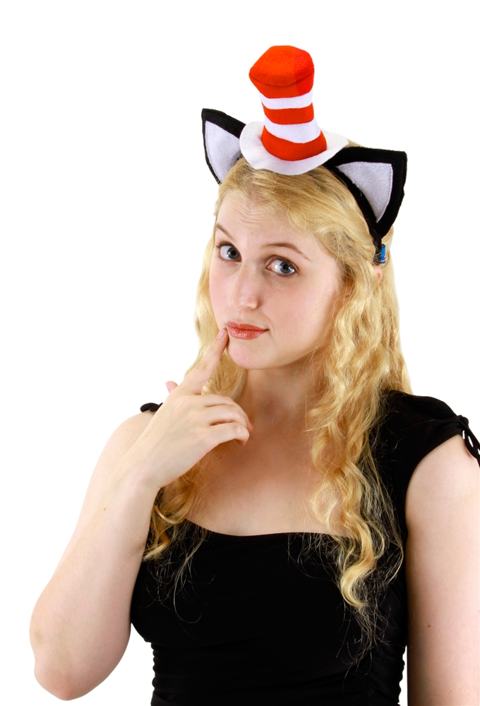 Dr. Seuss Cat in the Hat Classic Headband by Elope