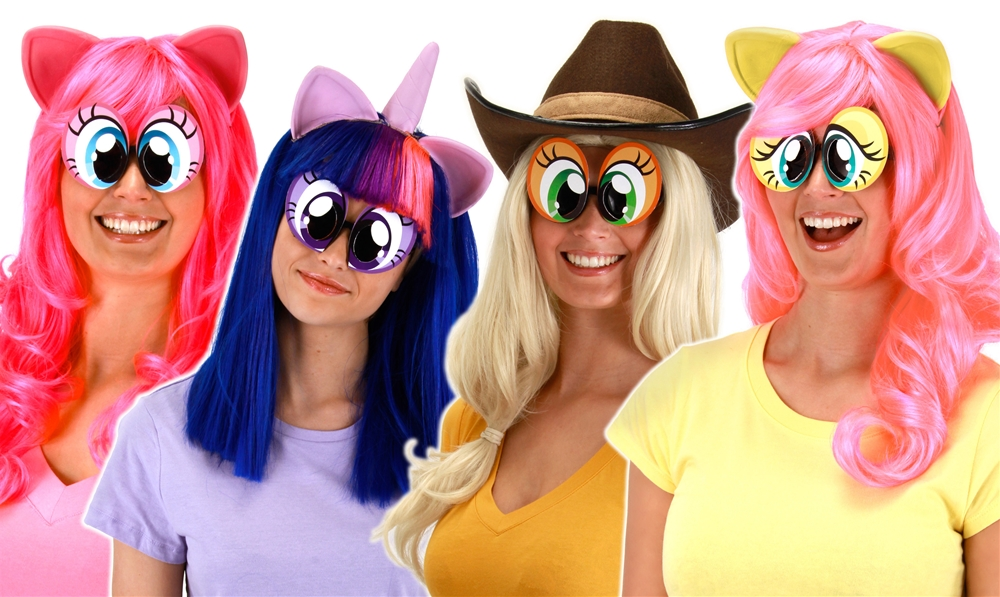 My Little Pony Cartoon Eyes  sc 1 st  Halloween Costumes & My Little Pony Cartoon Eyes by Elope - Halloween Costumes