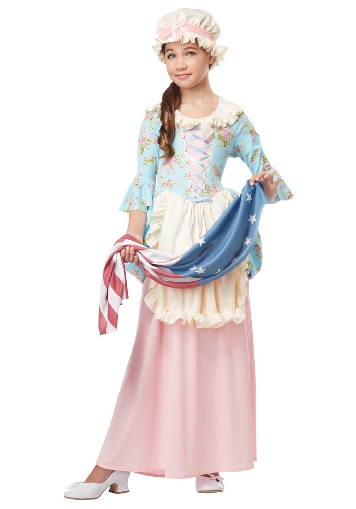Colonial Betsy Ross Child Costume