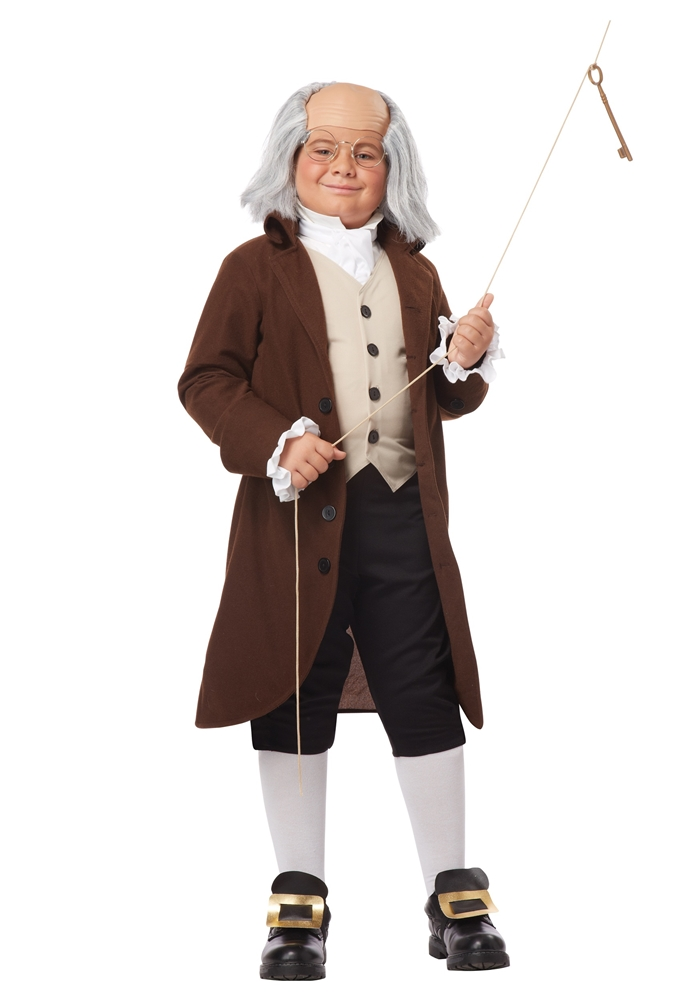 Colonial Ben Franklin Child Costume