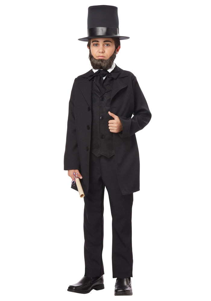 Abe Lincoln Child Costume