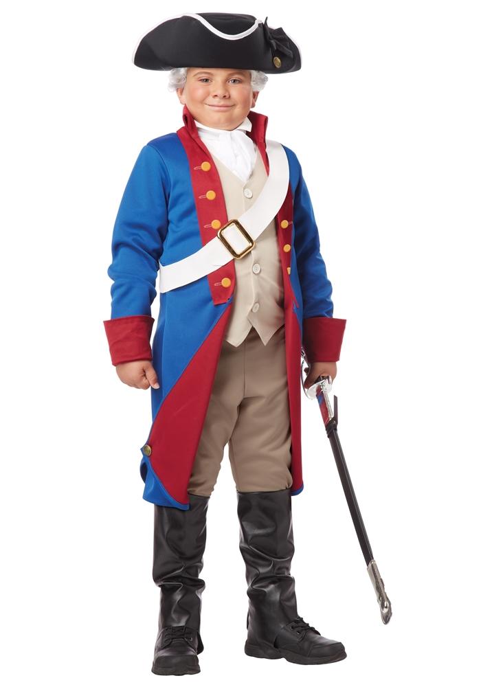 Image of American Patriot Child Costume