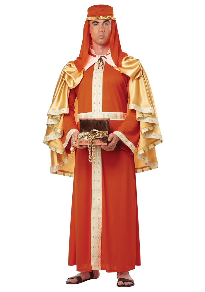 Three Wise Men Gaspar of India Adult Mens Costume by California Costumes