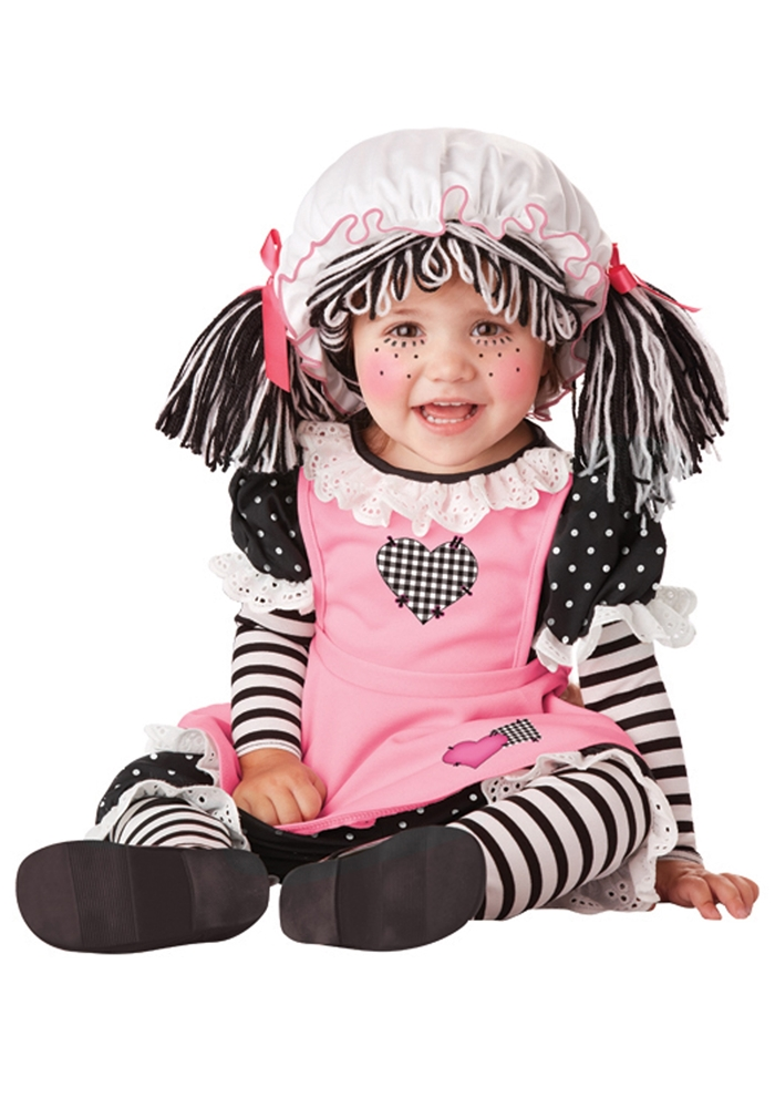 Image of Baby Rag Doll Infant Costume