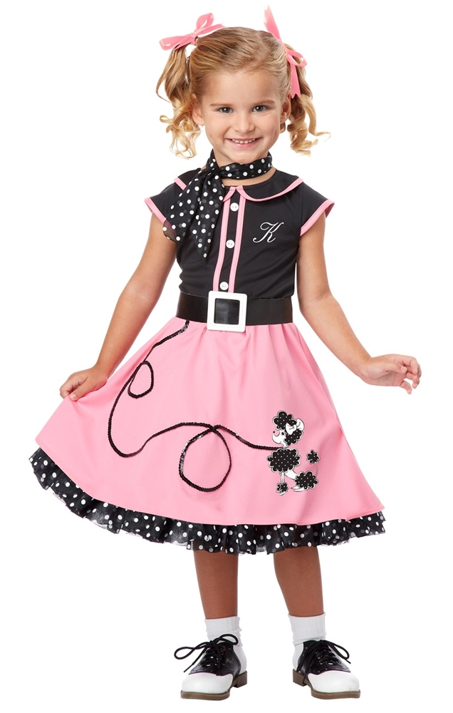 50s Poddle Cutie Toddler Costume