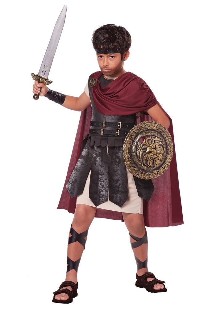 Spartan Warrior Child Costume by California Costumes