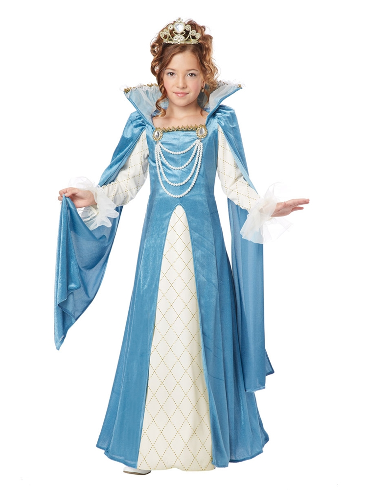 Renaissance Queen Child Costume by California Costumes