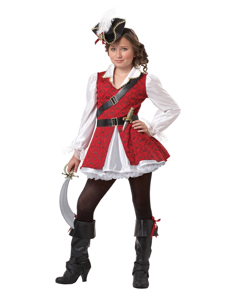 Captain Cuteness Pirate Child Costume