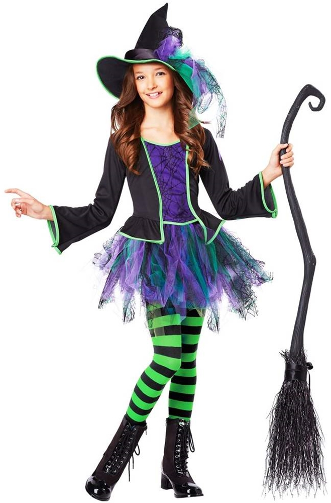 Festive Witch Child Costume