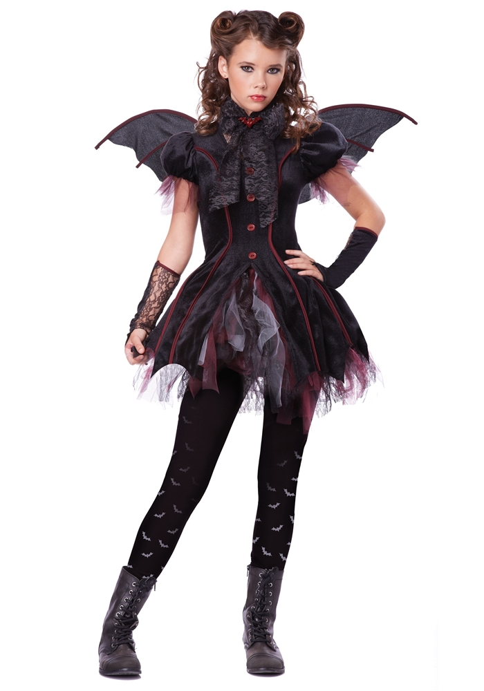 Victorian Vampiress Tween Costume