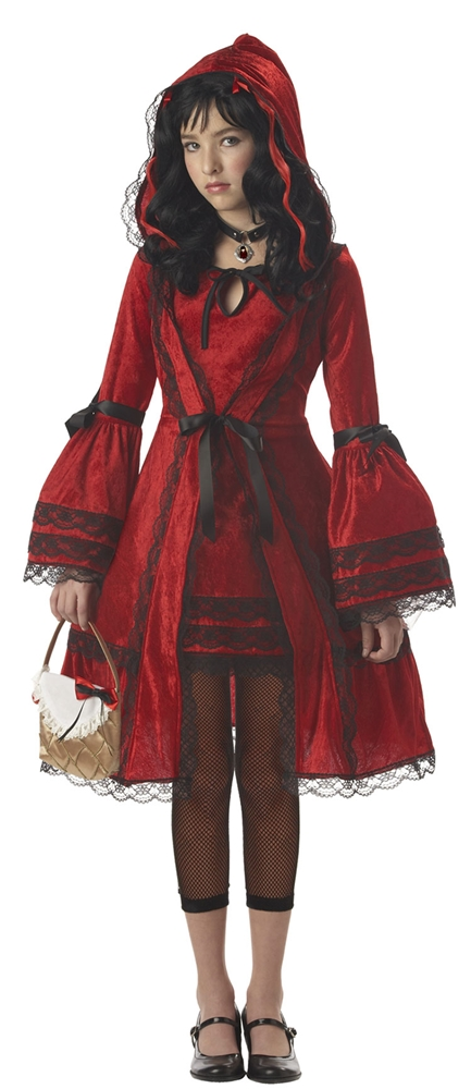 Victorian Red Riding Hood Tween Costume by California Costumes