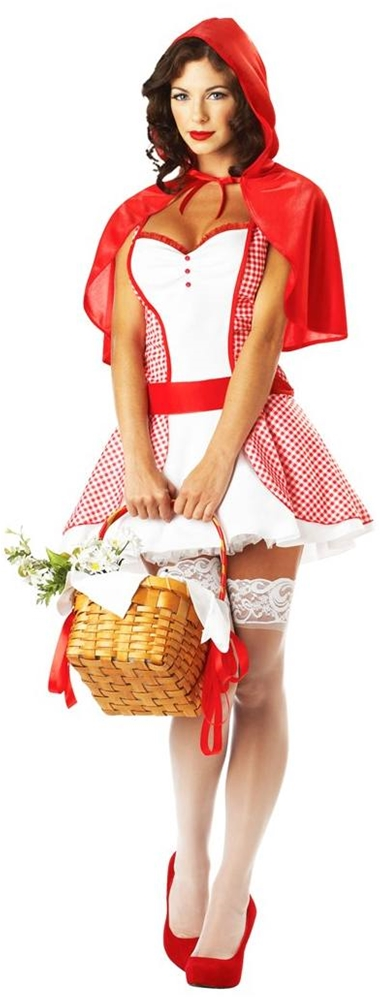 Miss Red Riding Hood Adult Womens Costume by California Costumes