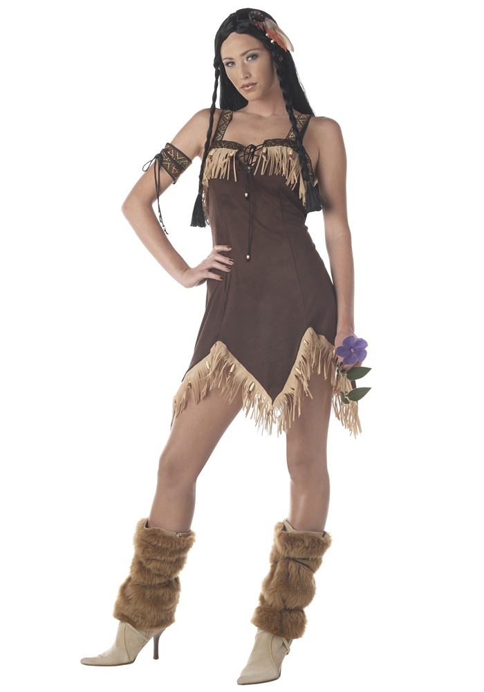 Sexy Indian Princess Adult Womens Costume